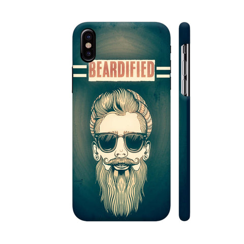 Beardified 2 iPhone X Cover | Artist: Nilesh Gupta