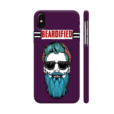 Beardified iPhone X Cover | Artist: Nilesh Gupta