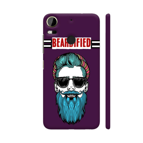 Beardified HTC Desire 10 Pro Cover | Artist: Nilesh Gupta