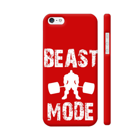 Beast Mode On iPhone 5 / 5s Cover | Artist: KELLIOFASHION