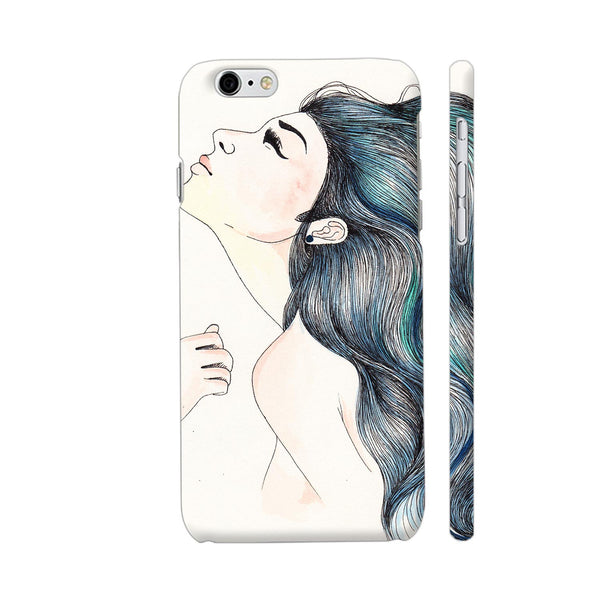 Beautiful Girl With Colored Hair iPhone 6 Plus / 6s Plus Cover | Artist: Pritpal Singh