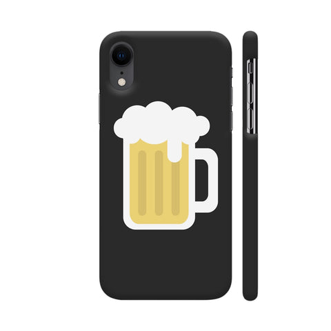 Beer Mug On Black iPhone XR Cover | Artist: Paresh Godhwani