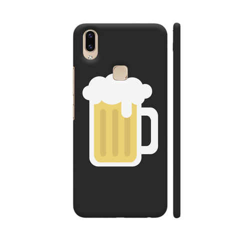 Beer Mug On Black Vivo V9 Youth Cover | Artist: Paresh Godhwani