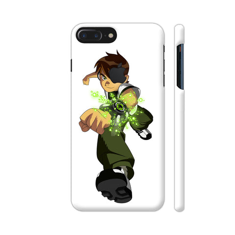 Ben Ten 1 Illustration iPhone 7 Plus Logo Cut Cover | Artist: Ashish Singh