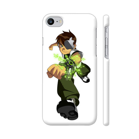 Ben Ten 1 Illustration iPhone 7 Logo Cut Cover | Artist: Ashish Singh