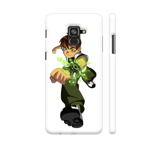 Ben Ten 1 Illustration Samsung A8 Cover | Artist: Ashish Singh