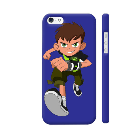 Ben Ten 2 Illustration iPhone SE Cover | Artist: Ashish Singh