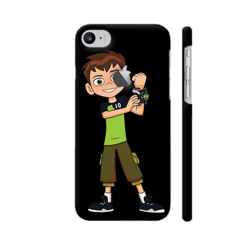 Ben Ten Illustration iPhone 7 Logo Cut Cover | Artist: Ashish Singh