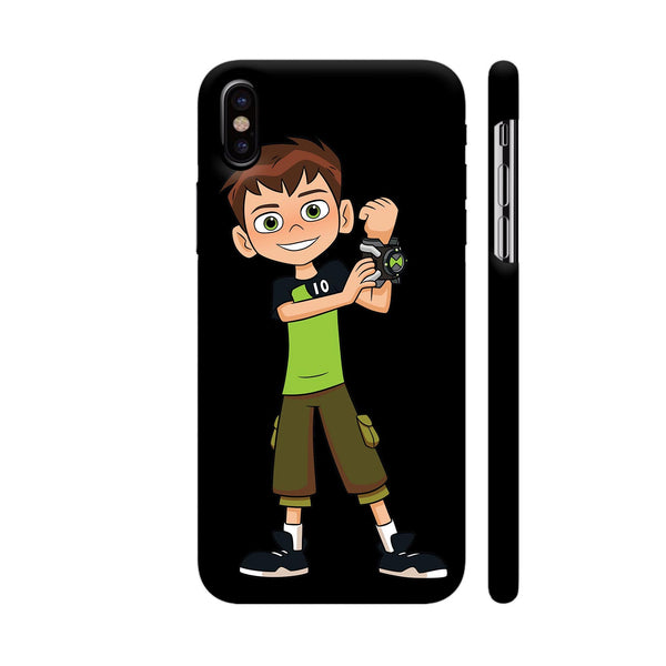 Ben Ten Illustration iPhone X Cover | Artist: Ashish Singh