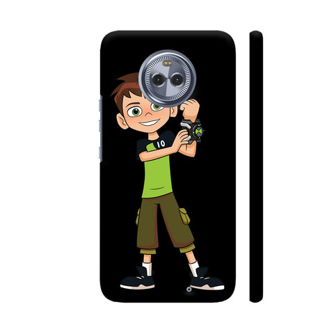 Ben Ten Illustration Moto X4 Cover | Artist: Ashish Singh