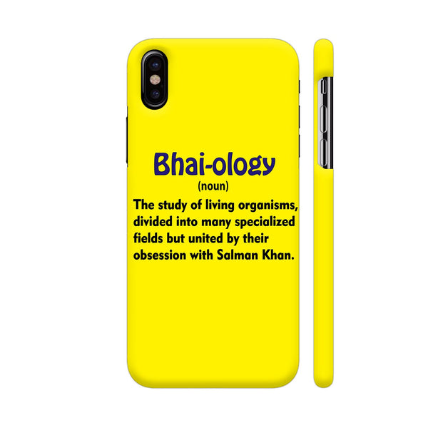 Bhai Ology iPhone X Cover | Artist: Malls