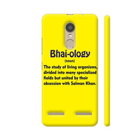 Bhai Ology Lenovo K6 Power Cover | Artist: Malls