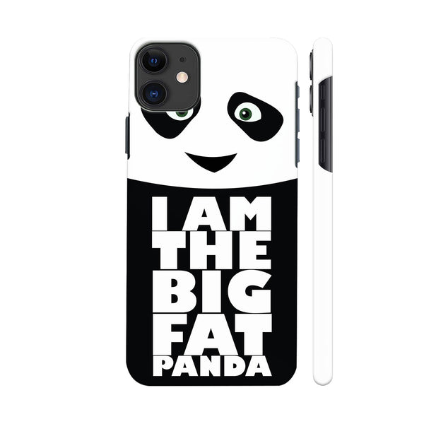 Big Fat Panda iphone 11 Cover | Artist: Champ
