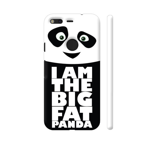 Big Fat Panda Google Pixel Cover | Artist: Champ