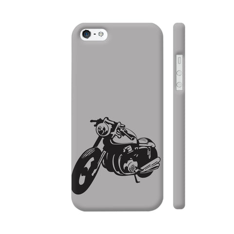 Bike Racer iPhone SE Cover | Artist: Ashish Singh