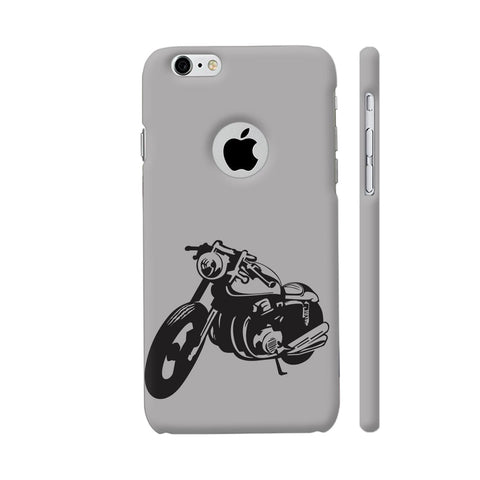 Bike Racer iPhone 6 / 6s Logo Cut Cover | Artist: Ashish Singh