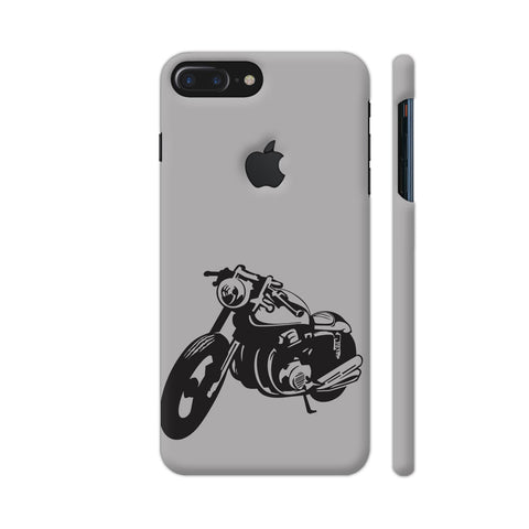 Bike Racer iPhone 7 Plus Logo Cut Cover | Artist: Ashish Singh