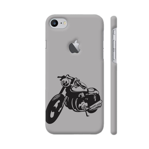 Bike Racer iPhone 7 Logo Cut Cover | Artist: Ashish Singh