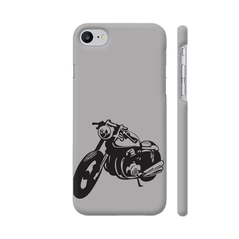 Bike Racer iPhone 7 Cover | Artist: Ashish Singh