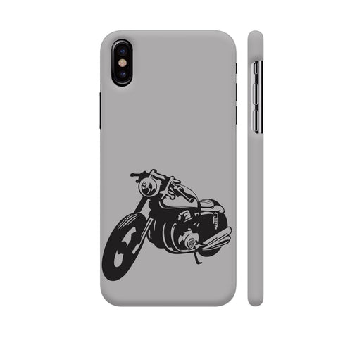 Bike Racer iPhone X Cover | Artist: Ashish Singh