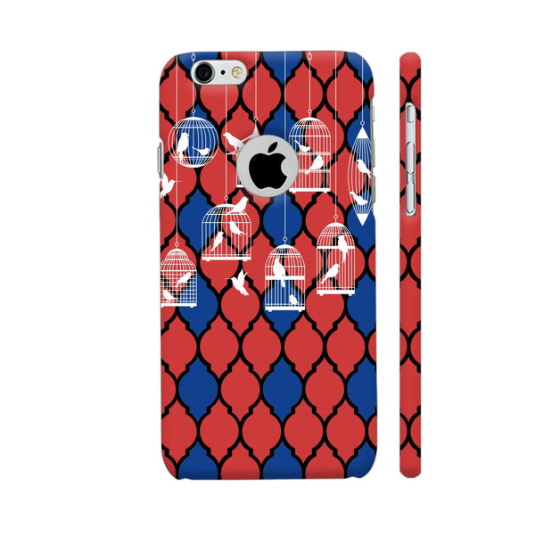 Birds By The Cage iPhone 6 / 6s Logo Cut Cover | Artist: Abhinav