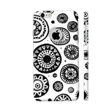 Black And White Earthen Circles iPhone 6 / 6s Logo Cut Cover | Artist: Pritpal Singh
