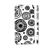 Black And White Earthen Circles iPhone 6 / 6s Cover | Artist: Pritpal Singh