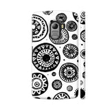 Black And White Earthen Circles Lenovo K4 Note Cover | Artist: Pritpal Singh