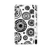 Black And White Earthen Circles OnePlus X Cover | Artist: Pritpal Singh