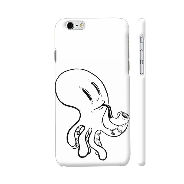 Black And White Octopus iPhone 6 Plus / 6s Plus Cover | Artist: Pritpal Singh