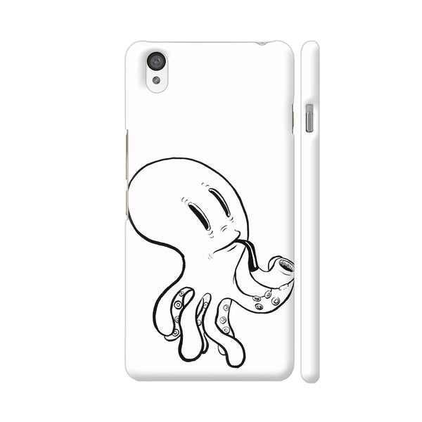 Black And White Octopus OnePlus X Cover | Artist: Pritpal Singh