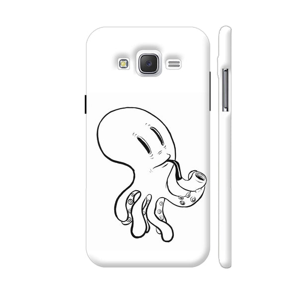 Black And White Octopus Samsung Galaxy J5 Case