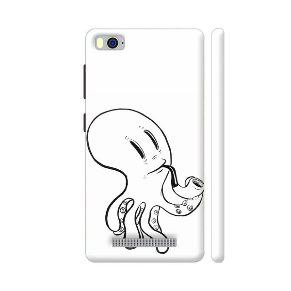 Black And White Octopus Xiaomi Mi 4i Cover | Artist: Pritpal Singh