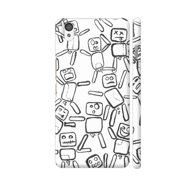 Black And White Rag Dolls OnePlus X Cover | Artist: Pritpal Singh