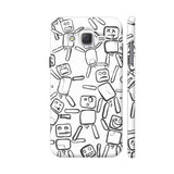 Black And White Rag Dolls Samsung Galaxy J2 (Old) Cover | Artist: Pritpal Singh