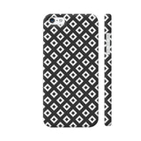 Black And White Square Diagonal Love iPhone SE Cover | Artist: Adeela Abdul Razak