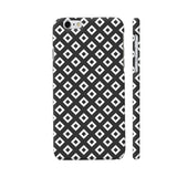 Black And White Square Diagonal Love iPhone 6 / 6s Cover | Artist: Adeela Abdul Razak