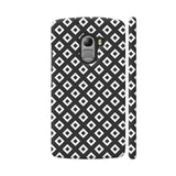 Black And White Square Diagonal Love Lenovo K4 Note Cover | Artist: Adeela Abdul Razak