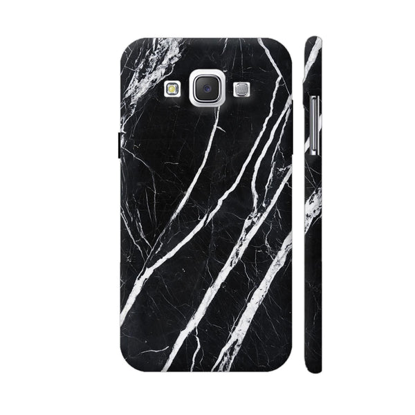 Black Marble Samsung Galaxy E5 Case