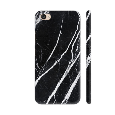 Black Marble Vivo V5 Plus Cover | Artist: Abhinav