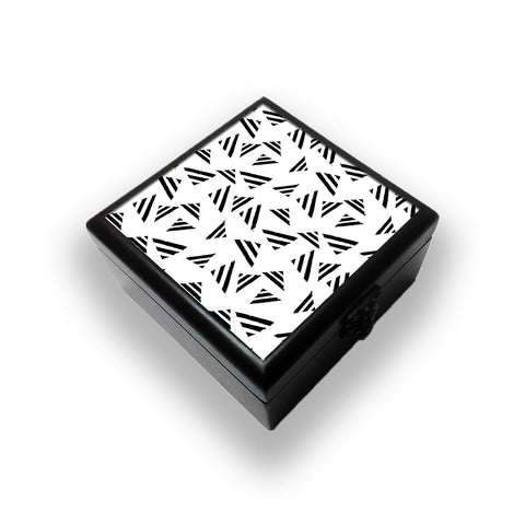 Black Pyramid Jewellery Box