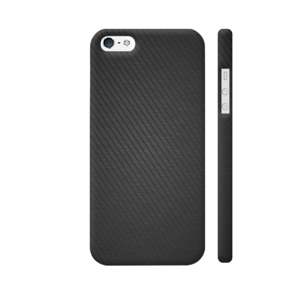 Black Texture 1 Apple iPhone SE Case