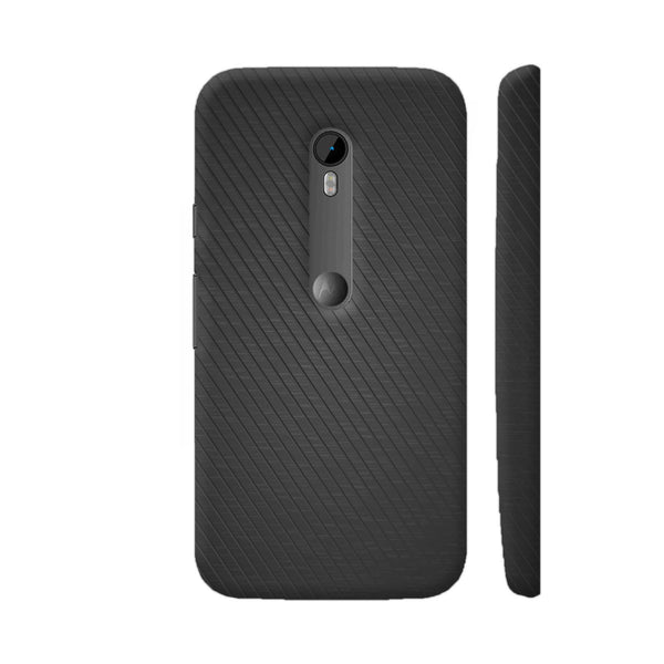 Black Texture 1 Motorola Moto G Turbo Edition Case