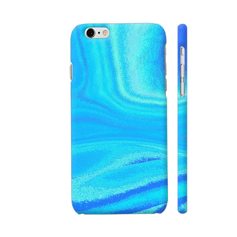 Blue Abstract Waves iPhone 6 Plus / 6s Plus Cover | Artist: Looly Elzayat