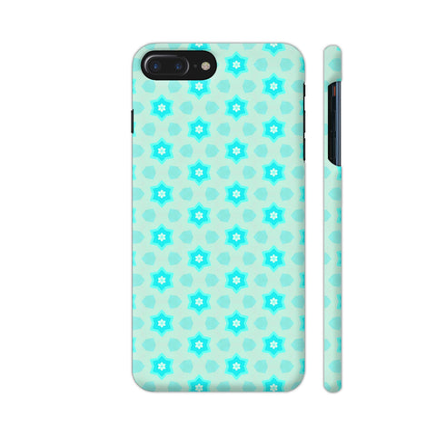 Blue Floral Pattern 3 iPhone 7 Plus Cover | Artist: Malls