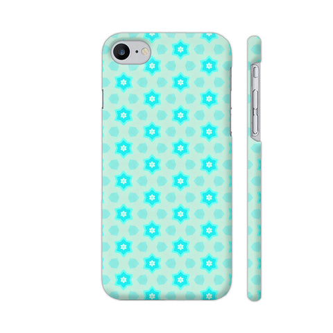 Blue Floral Pattern 3 iPhone 8 Cover | Artist: Malls
