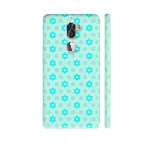 Blue Floral Pattern 3 Coolpad Cool 1 / Cool1 Dual Cover | Artist: Malls