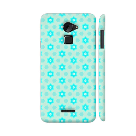 Blue Floral Pattern 3 Coolpad Note 3 Lite Cover | Artist: Malls