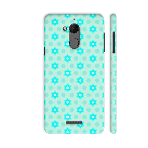 Blue Floral Pattern 3 Coolpad Note 5 Cover | Artist: Malls