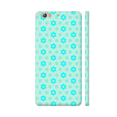 Blue Floral Pattern 3 Gionee S6 Cover | Artist: Malls
